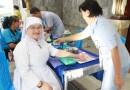 ตรวจเช็คสุขภาพชุมชน ครูและบุคลากร เอ็กซ์เรย์ทรวงอก และคัดกรองมะเร็งปากมดลูก 7-8 ส.ค. 62